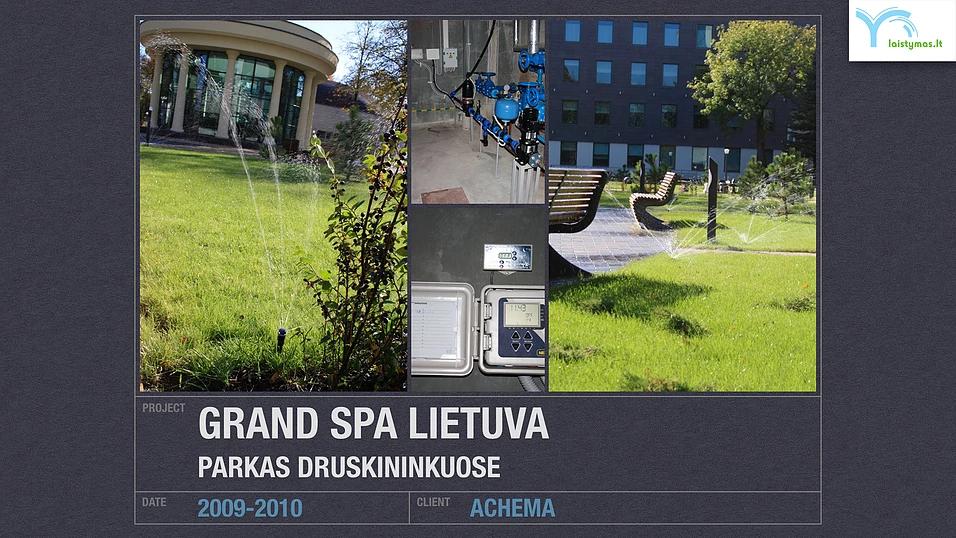 Laistomas parkas Druskininkuose